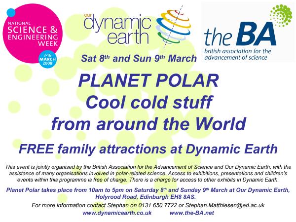 Poster zum Polarwochenende 2008